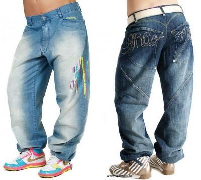 Dámské široké džíny od Endorfina 2011
