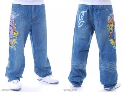 Široké kalhoty aneb jsou baggy kalhoty ještě in  31273f19d0a